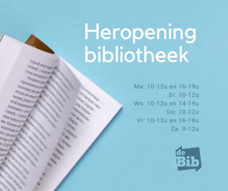 Heropening bibliotheek