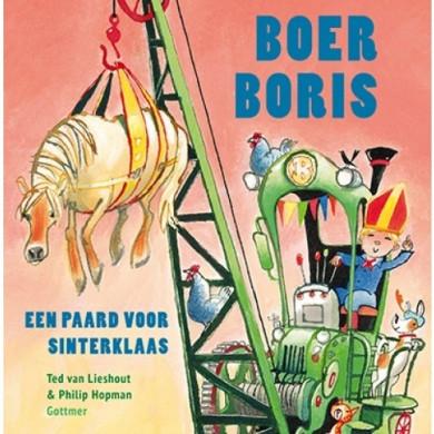 cover van Boer Boris, een paard voor Sinterklaas- Ted van Lieshout